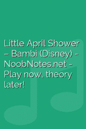 Little April Shower – Bambi (Disney)