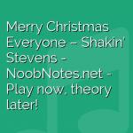 Merry Christmas Everyone – Shakin' Stevens