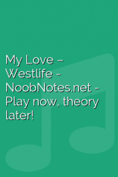 My Love – Westlife