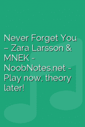 Never Forget You – Zara Larsson & MNEK