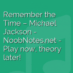 Remember the Time – Michael Jackson