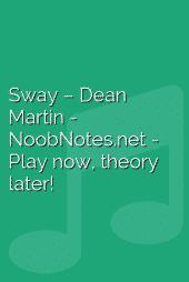 Sway – Dean Martin