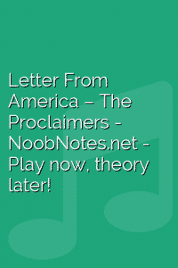 Letter From America – The Proclaimers