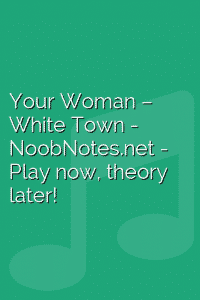 Your Woman – White Town