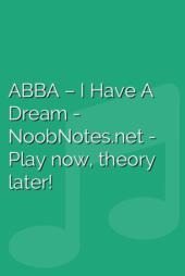 ABBA – I Have A Dream
