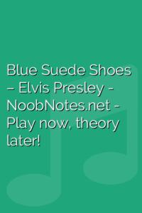 Blue Suede Shoes – Elvis Presley