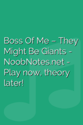Boss Of Me – They Might Be Giants