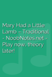 Mary Had a Little Lamb – Traditional