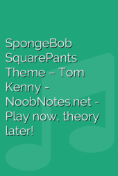 SpongeBob SquarePants Theme – Tom Kenny