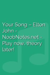 Your Song – Elton John