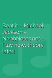 Beat it – Michael Jackson
