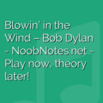 Blowin' in the Wind – Bob Dylan