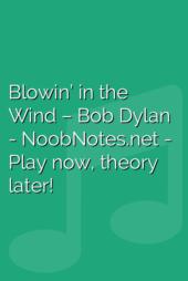 Blowin' in the Wind – Bob Dylan