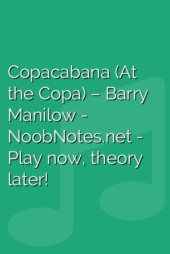 Copacabana (At the Copa) – Barry Manilow