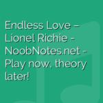 Endless Love – Lionel Richie
