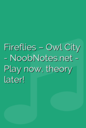 Fireflies – Owl City