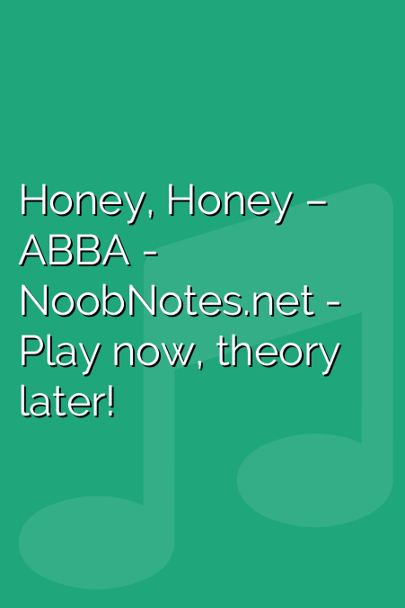 Honey, Honey – ABBA
