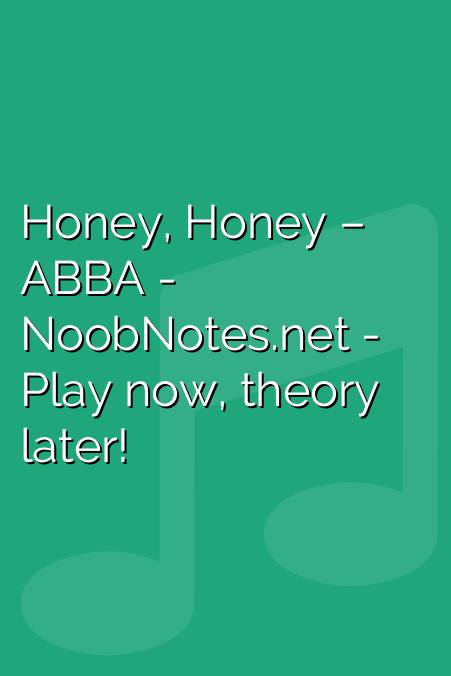 Honey, Honey – ABBA
