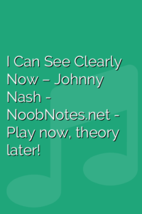 I Can See Clearly Now – Johnny Nash