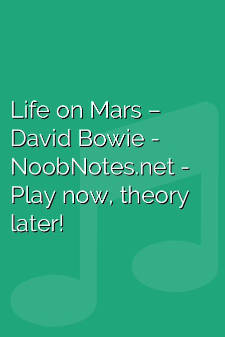 Life on Mars – David Bowie
