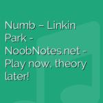 Numb – Linkin Park