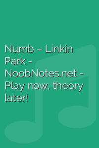 Numb – Linkin Park