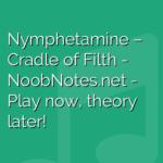Nymphetamine –  Cradle of Filth