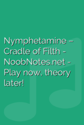Nymphetamine –  Cradle of Filth