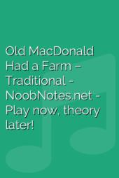 Old MacDonald Had a Farm – Traditional