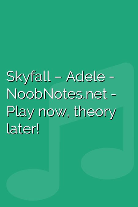 Skyfall – Adele