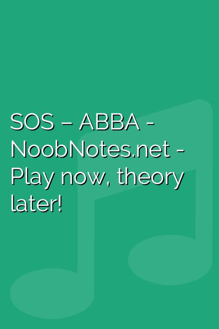 SOS – ABBA