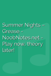Summer Nights – Grease