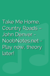 Take Me Home, Country Roads – John Denver