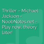 Thriller – Michael Jackson