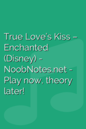True Love's Kiss – Enchanted (Disney)