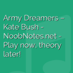 Army Dreamers – Kate Bush