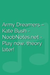 Army Dreamers – Kate Bush