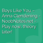 Boys Like You – Anna Clendening