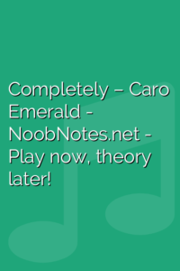 Completely – Caro Emerald