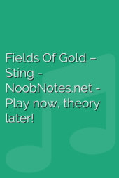 Fields Of Gold – Sting