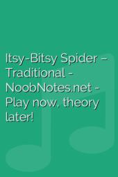 Itsy-Bitsy Spider – Traditional