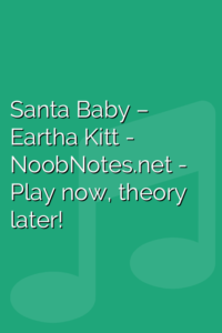 Santa Baby – Eartha Kitt
