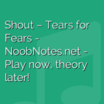 Shout – Tears for Fears
