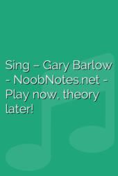 Sing – Gary Barlow