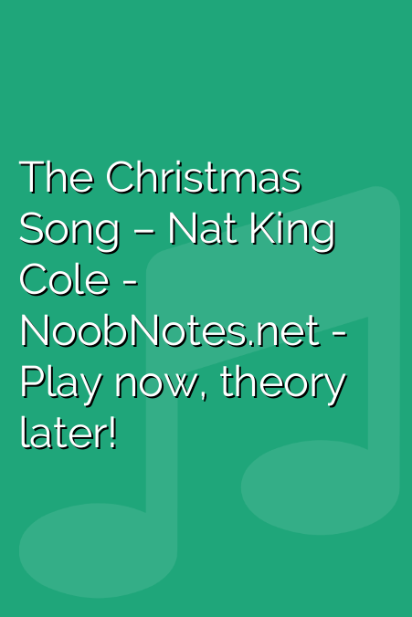 The Christmas Song – Nat King Cole