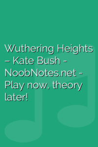 Wuthering Heights – Kate Bush
