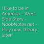 America - West Side Story