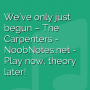 We've only just begun - The Carpenters