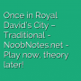 Once in Royal David's City - Traditional