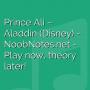 Prince Ali - Aladdin (Disney)